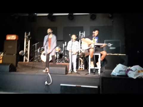 Singing at Zeal Hamilton