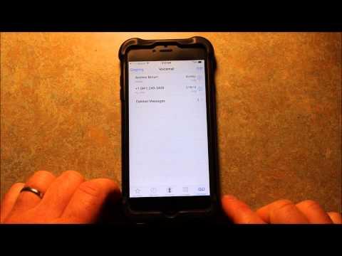 Straight Talk Has Visual Voicemail With Verizon LTE!!