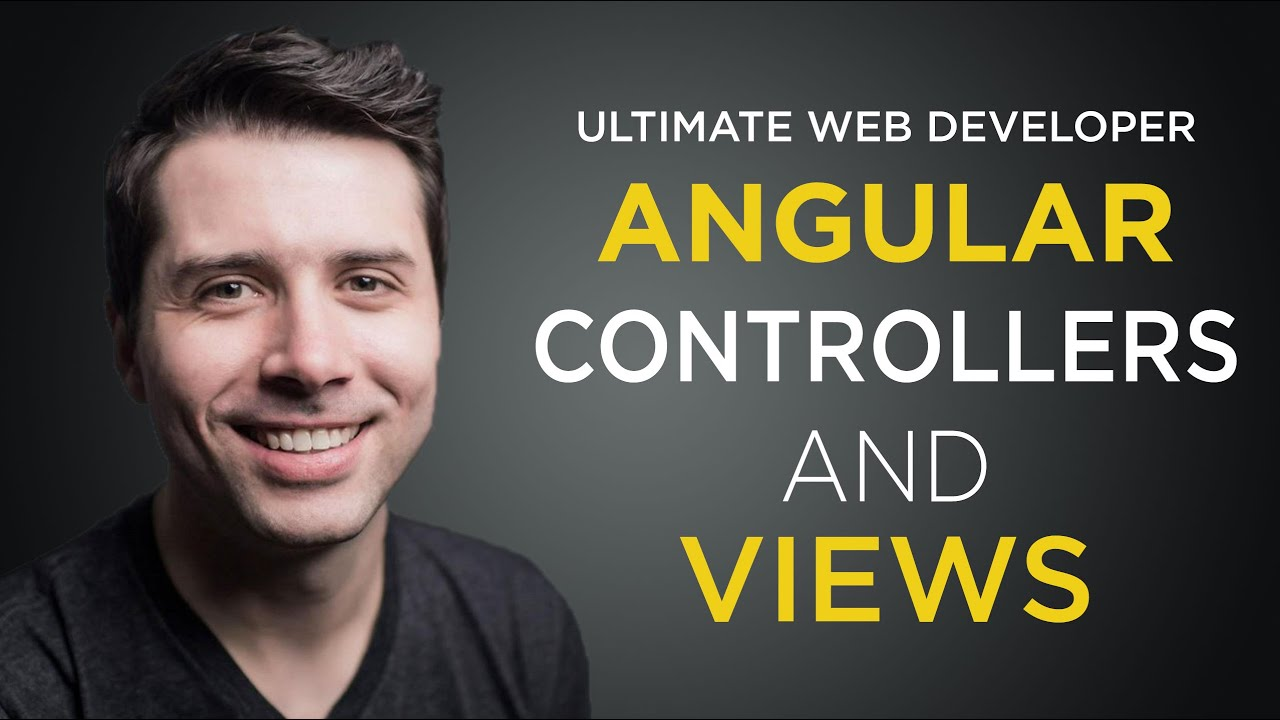 controllers and views 3 getting started with angularjs free tutorial youtube