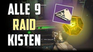 Destiny 2 : Alle 9 Raid Kisten | Standort Leviathan Deutsch / German