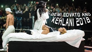 Demi Lovato and Kehlani 2018