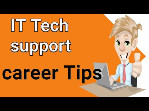 Technical support career – it support career salaries | job roles for technical support other basic
