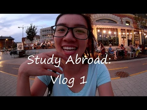 Settling In Budapest   Study Abroad Vlog #1