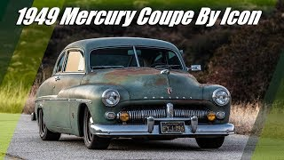 1949 Mercury Coupe EV Derelict By Icon With Tesla Technology
