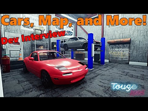Touge1995 | Developer Interview, Cars, Release Date, Open World, and MORE!