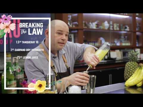 Breakthru Spring Cocktail Breaking the Law