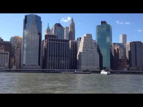 Monster View Lower Mamhattan on  ferry Steve Dressler Music