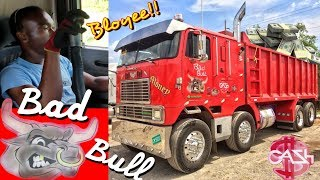 Bad Bull - Twin Steer Cabover Dump Truck