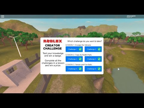 Creator Challenge Roblox Answers Jun 2018 Roblox Creator Challenge Lessons 1 3 Answers Jurassic World Youtube