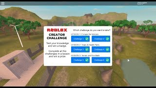 [Jun. 2018] Roblox Creator Challenge: Lessons 1-3 Answers | Jurassic World