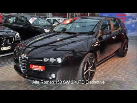 alfa romeo 159 sw 2 4jtd distinctive 27030 auto kunz. Black Bedroom Furniture Sets. Home Design Ideas