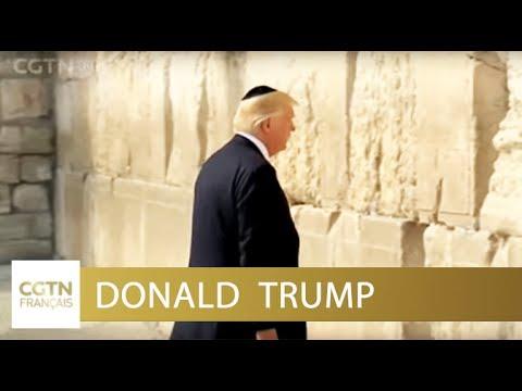 Donald Trump : une visite en Israël pleine d'espoirde YouTube · Durée:  1 minutes 36 secondes