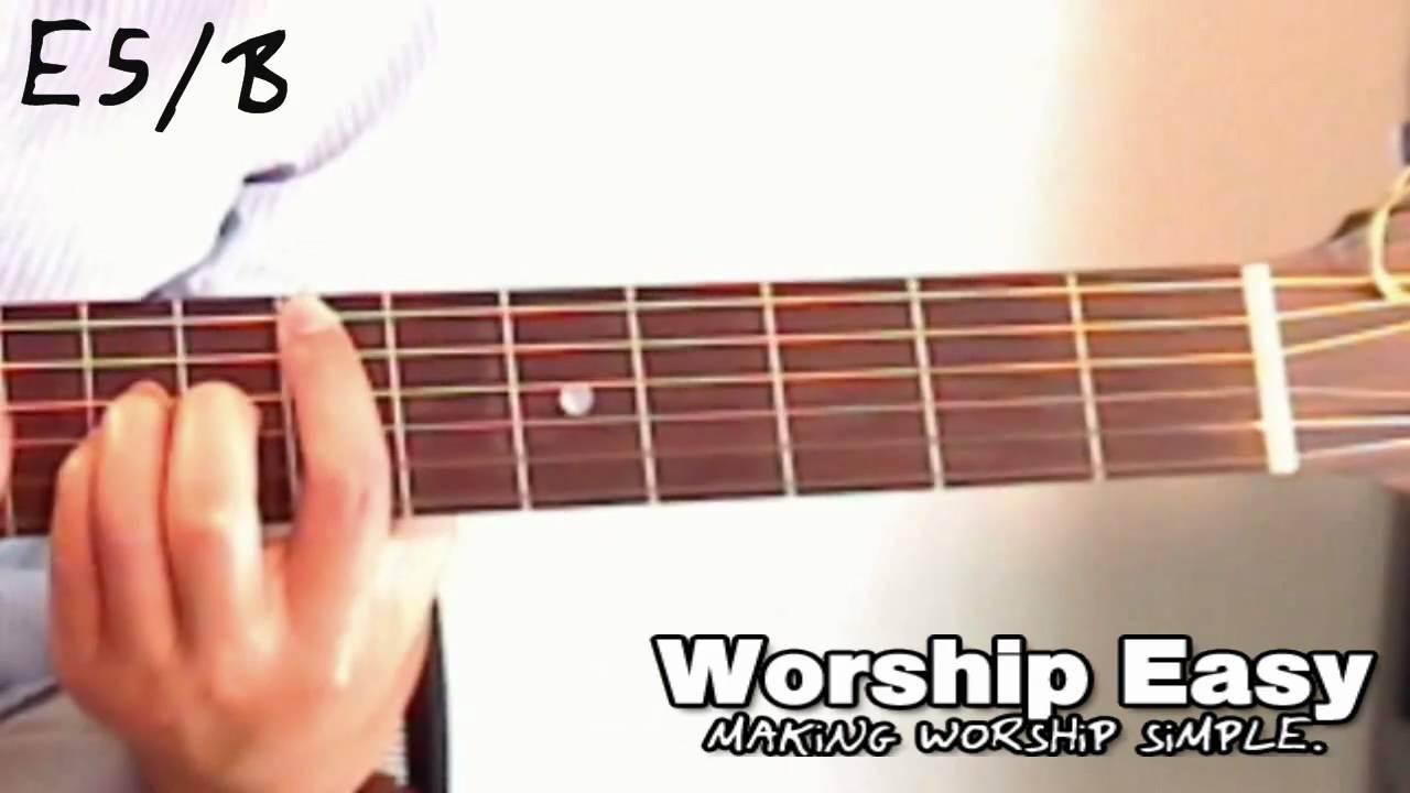 The E5b Chord Guitar Youtube