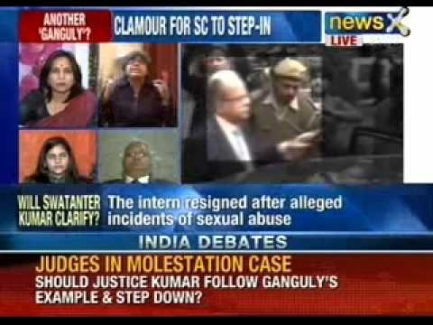 India Debate : Do Ganguly and Kumar's cases suggest trial by insinuation ? - NewsX
