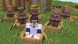 Ich habe einen Minecraft Dorfbewohner entführt