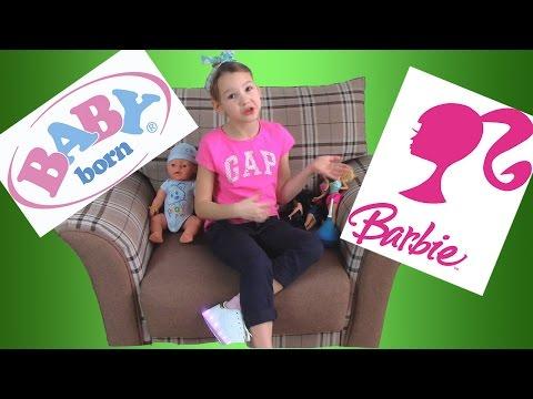 Беби Борн или Барби? То или Это?  Baby Born or Barbie? This Or That?