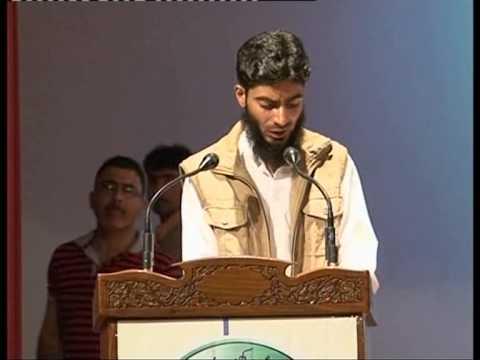 Zubair Salafi Naat at Kashmir University