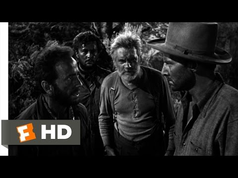 The Treasure of the Sierra Madre (5/10) Movie CLIP - The Stranger's Proposition (1948) HD