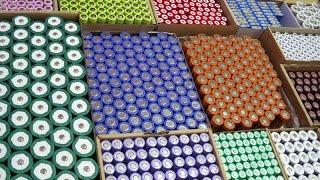 видео Производство литиевых батарей