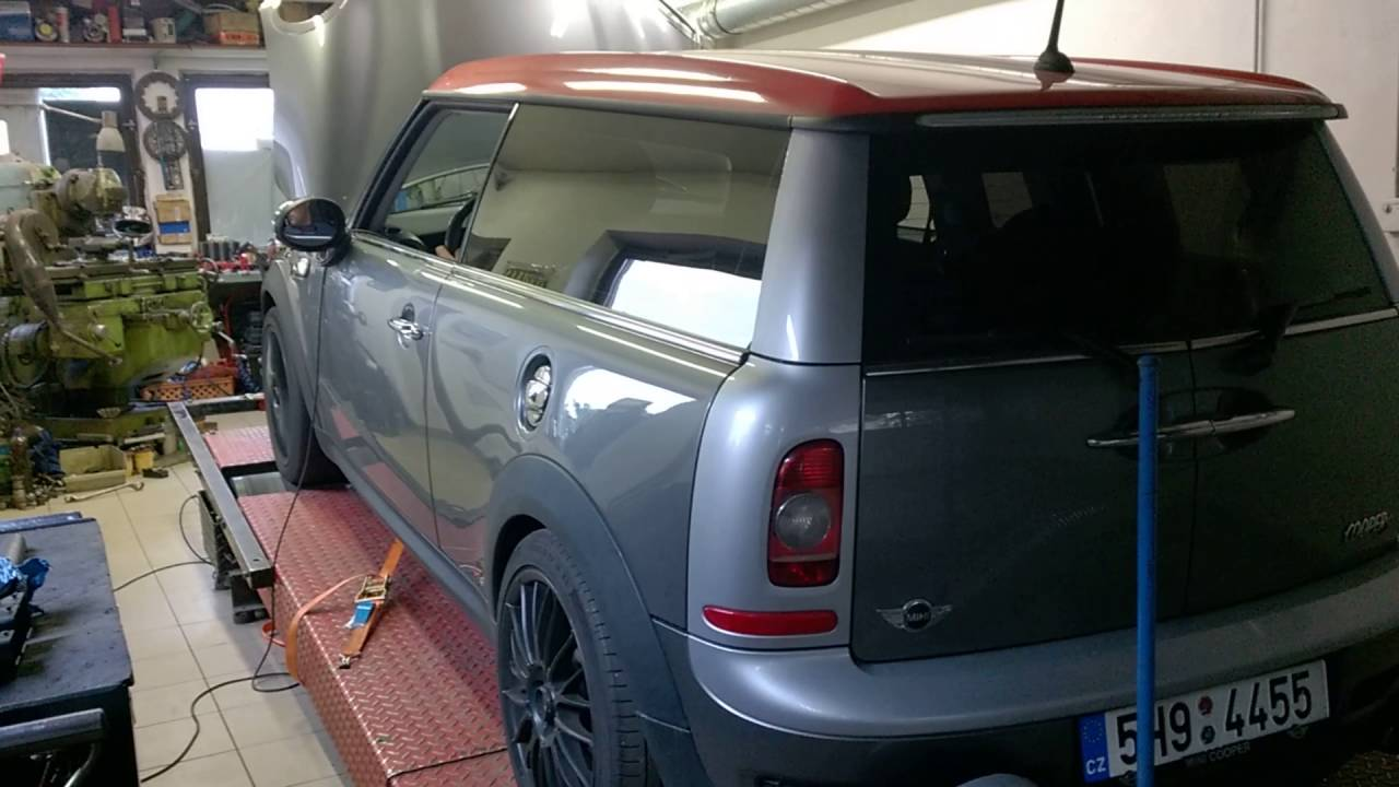 Mini Clubman S R55 Dyno Youtube