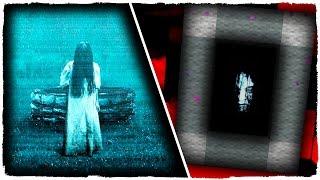 👉 COMO HACER UN PORTAL A LA DIMENSIÓN DE THE RING - MINECRAFT TERROR Y CREEPYPASTAS