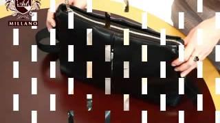 сумка-планшет горизонтальной формы через плечо фирмы Balli(Модель 200995 - купить в интернет магазине http://artmillano.ua Заказать данный товар можно, перейдя по ссылке: http://artmillano..., 2014-03-20T15:00:24.000Z)