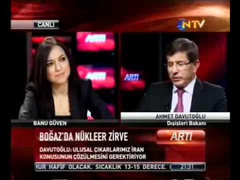 Davutoğlu, NTV'ye Konuştu