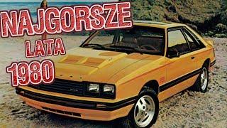 Najgorsze Auta Świata - Lata 80