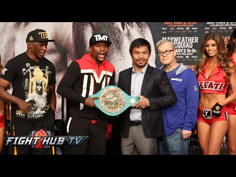 Floyd Mayweather vs  Manny Pacquiao Full Video- Full Final Press Conference video