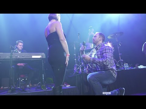 Adam Rivers - WATCH: Couple gets engaged at Lukas Graham show