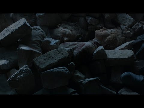 Game Of Thrones 8×6 - Tyrion Reaches Jaimie And Cersei's Death Spot Full Scene