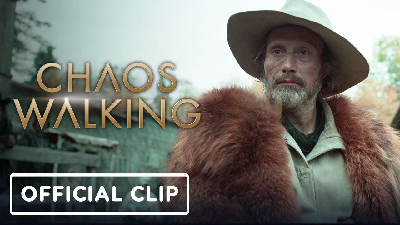 Chaos Walking - Official Exclusive Clip (Tom Holland, Mads Mikkelsen) | IGN Fan Fest 2021