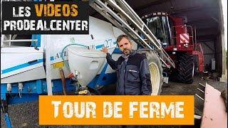 Visite de la ferme - 2018 | matériel agricole + BONUS à la fin