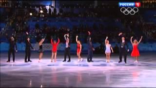 Блестящая победа наших фигуристов в командных соревнованиях по ФК. Олимпиада Сочи-2014