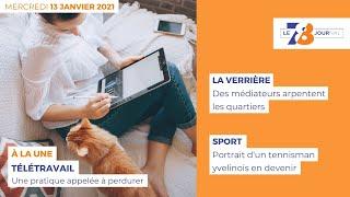 7/8 Le Journal. Edition du 13 janvier 2021