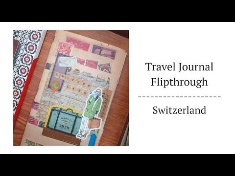 Switzerland 🇨🇭 Travel Journal Flipthrough