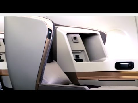 Next Generation Cabin Products on the B700-300ER | Singapore Airlines
