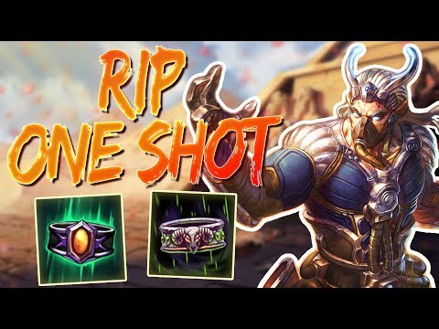 Ao Kuang: THE MAGE ONE SHOT BUILD IS DEAD! - Smite