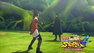 Сарада против Uncle Саске! Тренировка Сарады! | Naruto Storm 4 Путь Боруто Русские субтитры
