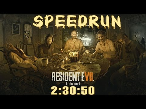 Resident Evil 7 Biohazard Speedrun (2:30:50) - Full Game Wal