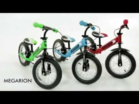Новинка 2016 - беговел на надувных колесах Small Rider Roadster AIR - видео
