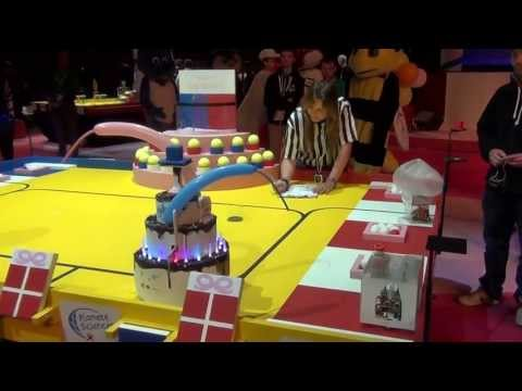2013 - Wall-y vs Planet Express - Coupe de France de robotique 2013