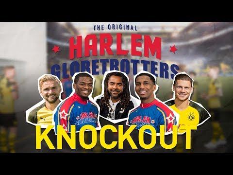 Knockout-Challenge | BVB vs. Harlem Globetrotters | Bump out mit Schmelzer, Piszczek und Owo