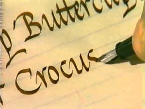 Lloyd Reynolds' Italic Calligraphy & Handwriting Episode 15