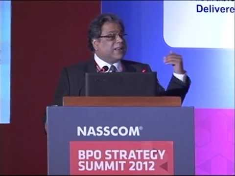 NASSCOM BPO Summit 2012: Session I: New Business Process Order: It's a whole new organism!