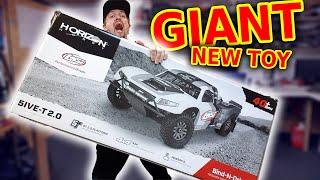 GIANT gas rc car (LOUD)