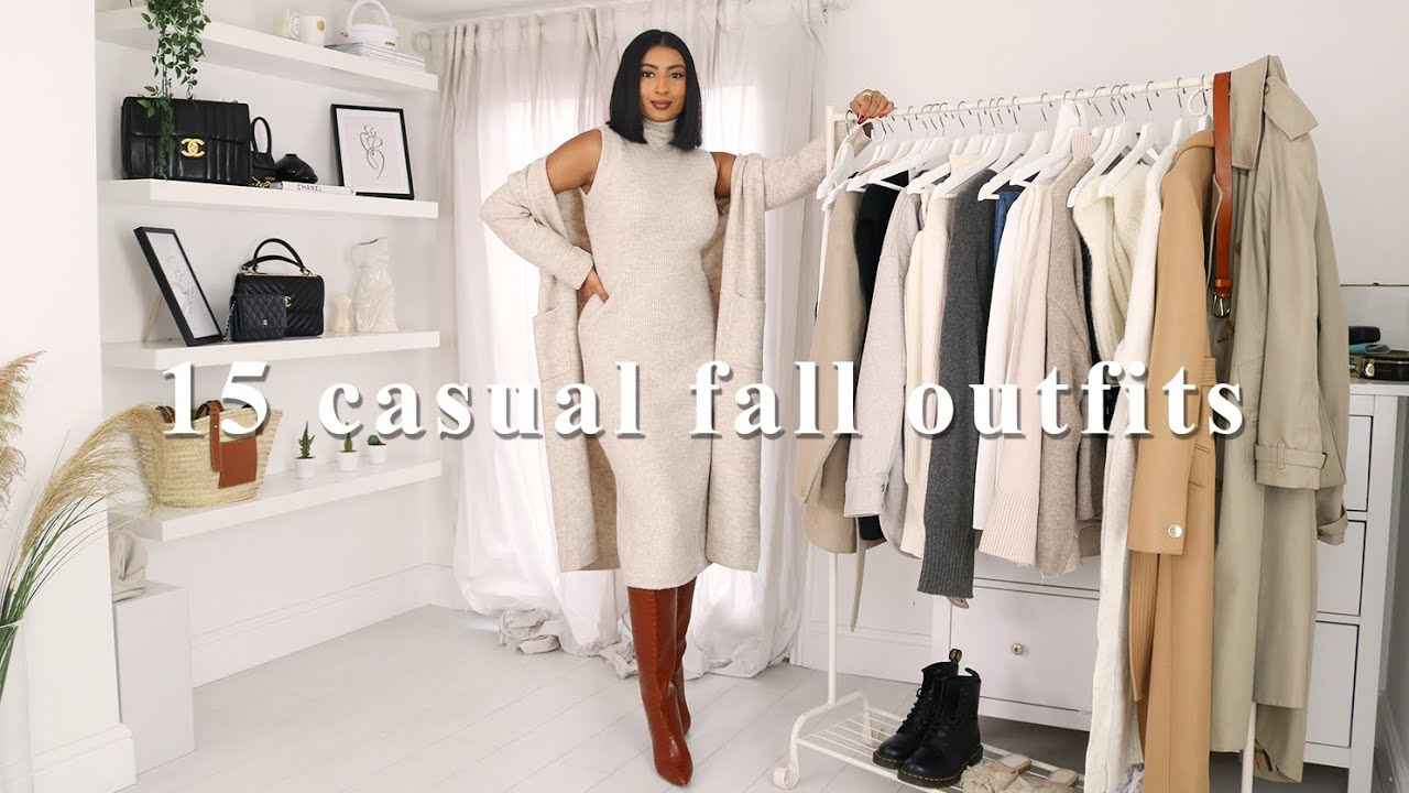 15 CASUAL CHIC FALL OUTFITS | FALL/AUTUMN OUTFITS LOOKBOOK 2020 | NOORIE ANA