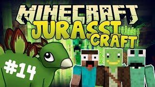ALIEN-CREEPER!!! - JurassiCraft #14 - Minecraft Modplay