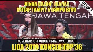 Lida dangdut indosiar(9 maret 2019) calon bintang ninda semua penampilan bintang 5 waaww!!!