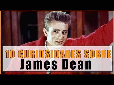 10 CURIOSIDADES sobre JAMES DEAN que quizá no sabías!